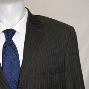 Burberry London Bond Street Three Button Suit 42L